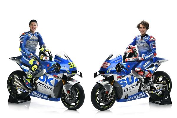 MotoGP, presentata la nuova Suzuki: ecco la moto di Rins e Mir