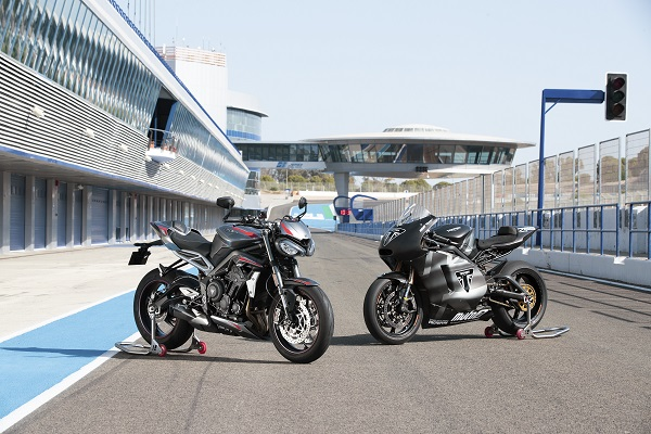 Triumph new street triple